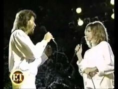 Barbara Streisand with Barry Gibb (Original) - Woman In Love.wmv - YouTube
