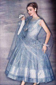 Jean Patchett for Harper's Bazaar photographed by Louise Dahl Wolfe,1953