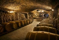 """6. Eguren Ugarte -- La Rioja, Spain Located on a 143yr-old vineyard at the base of a mountain, Eguren Ugarte boasts more than a mile of hand-dug tunnels that -- in addition to making Andy Dufresne proud -- are stocked with casks of aging wine you can try. Coolest stalagmite/ stalactite/ interesting formation inside: Definitely the """"txokos"""" (a Basque word pronounced """"cho-kos""""): carved-out nooks that can be reserved by wine club members for tastings, full meals…"""