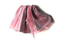 Pink and purple toddler girl skirt Size 3T  by QuickFashionSkirts, $29.00