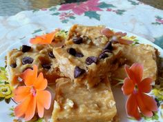 FUDGEY PEANUT BUTTER COCONUT SQUARES   These sweet fudge-like squares are very rich but quite low in carbs.  They may be frozen or refrig...