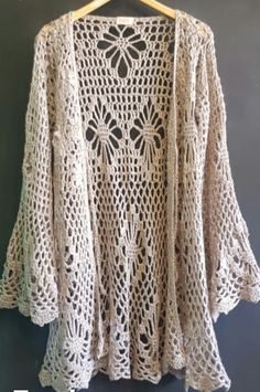 Crochet Blouse, Crochet Top, Stitch Patterns, Crochet Patterns, Crochet Clothes, Crochet Projects, Needlework, Sweaters, Cardigans