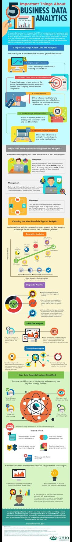 5 Important Things About Business Data Analytics #infographic #Business #BigData