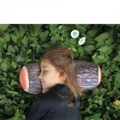 $15.99, Log micro bead head cushion