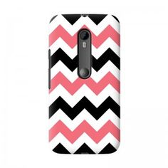 Bi-Colour Stripes Moto G3 case