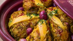 [ENG] Tagine Chicken w/ Preserved Lemon  / طاجين الدجاج بالحامض المصير -...