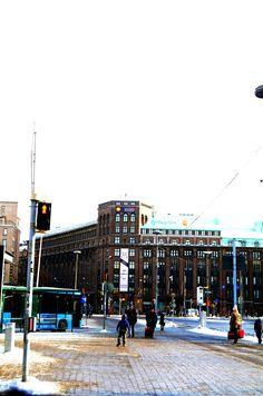 Helsinki today#helsinki#rautatieasema#winter