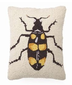 Beetle Pillow.
