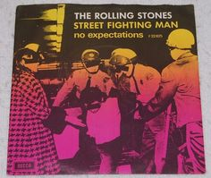 ROLLING STONES Street Fighting Man ULTRA rare Danish 45 PS Picture Sleeve TOP | eBay