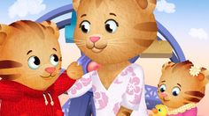 Daniel the tiger 🐯 tv show Be a good listener Don t run away Red cf3d34db8a