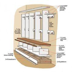 Open Lockers: Design Details
