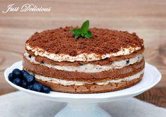 Just Delicious: Gaštanová torta s karamelovou šľahačkou
