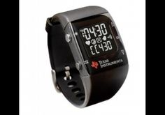"""TI Chronos (EZ430)    Texas Instruments calls the Chronos a """"wearable wireless development system"""". It looks like a sports watch because it's meant to do things like track health data. Not directly available to the public."""