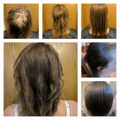 She started using Monat June 1st. IRT shampoo, spray, and conditioner, S3 supplements into her routine in July and she's been pretty consistent with them since. She's had one cut from the top to bottom pictures. No color treatments. I am so in awe of her results and I can't wait to see her one year results. She's got her crown of confidence back #mommyblogger #mommyhair #momlife #momhair #monat