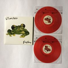 Silverchair - Frogstomp_Vinyl Record LP_RARE_Red Vinyl_SRC019