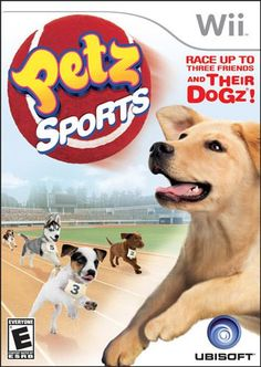 Petz sports play adopt race dog puppy dogz PC game XP Vista new 2007 new DVD Dog Playground, Dj Dance, Good Environment, Three Friends, Wii Games, Amazing Race, Nintendo Wii, Cute Puppies, Video Games