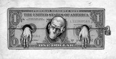Este artista desenmascaró alasociedad moderna: sus obras son pesadas ehipnotizantes alavez Chicano, Satire, Der Ludwig, Illustration Tattoo, Illustrator, Money Tattoo, Satirical Illustrations, Amazing Drawings, Thought Provoking
