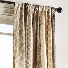 Awesome Pier 1 Imports Sari Patchwork Metallic Curtain