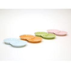 小分け菊皿 -Small Chrysanthemum-Shaped Plate-
