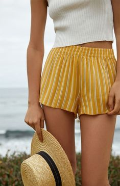 Pull On Woven Shorts