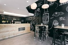 "Arhitektura Budjevac, an architectural design studio based in Serbia, had the task to create a fresh looking coffee shop, the first one of the future ""Stock Coffee"" franchise. In order to transform a former retail space into a coffee shop, they..."