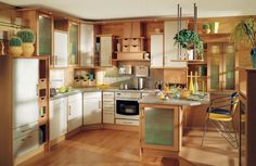 3 Awesome Useful Ideas: Kitchen Remodel Layout Counter Space small kitchen remodel contemporary.Small Kitchen Remodel Pass Through kitchen remodel layout moldings. Home Decor Kitchen, Interior Design Kitchen, Country Kitchen, Kitchen Furniture, New Kitchen, Kitchen Ideas, Wooden Kitchen, Interior Ideas, Cheap Kitchen