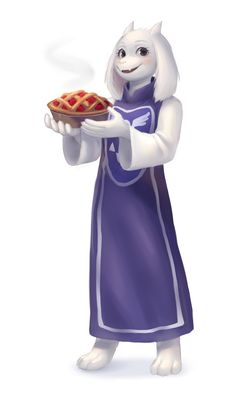 Though it's not mentioned, Toriel can and does in fact make other kinds of pie. They're all good.