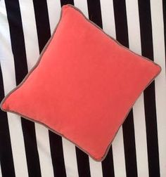 CHOOSE 2 TerryThrow Pillows in 18 by 18 get by CushionsandMore