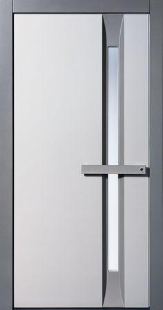 Haustürmodell von Pieno Modell Bern in Grau. Jetzt auch bei Fenster-Schmidinger aus Gramastetten / Oberösterreich erhältlich. Infos auf unserer Website www.fenster-schmidinger.at  #Pieno #Haustür #Haustürmodell #Bern #Grau