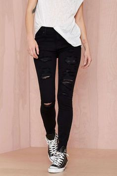 outfit negro y blanco