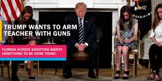 President Trump receives the survivor and bereaved parents of the Florida school mass shooting. Read the news know. Florida Schools, School Shootings, Keep Up, Donald Trump, Presidents, Parents, Reading, News, Dads