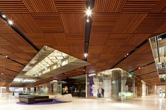 Timber Roofing in Westfield Sydney