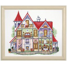 Doll House - Cross Stitch, Needlepoint, Embroidery Kits – Tools and Supplies