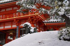 snowy shrine