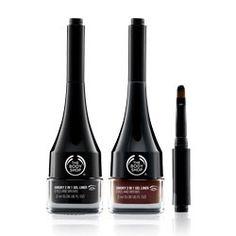 Smoky 2 in 1 Gel Eye Liner | The Body Shop