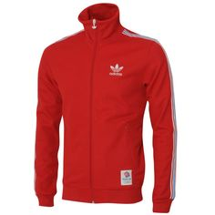 "Adidas Originals Team GB Olympic Track Top. I've got the blue version, but both it and the red pictured have completely sold out! Glad I picked up one when I did, it's a classic simple Adidas track top with ""Great Britain"" stitched on the back."