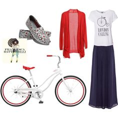 """""""Bicycle Style"""" by ggoss on Polyvore"""