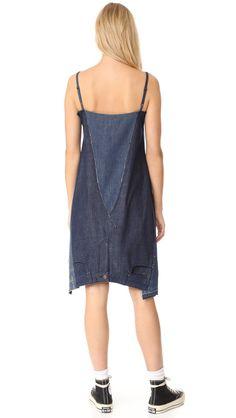 6397 - 2 Jeans Dress, the Repurposed Denim Slip Dress - Denimology Shirt Transformation, Denim Crafts, Altered Couture, Diy Dress, Jeans Dress, Denim Fashion, Refashion, Textiles, Creations