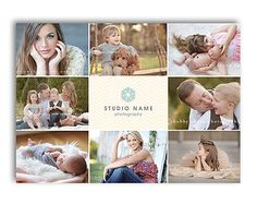 Photography Marketing - 5x7 Promo Card Post Card Template - Grazia - 1134
