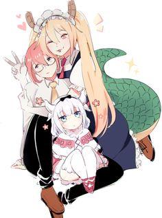 kobayashi-san chi no maid dragon | Tumblr