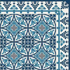 Tapis Vinyle - Barcelona Turquoise - Beija Flor - bientôt sur mybohem.fr