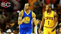 Stephen Curry, Andre Iguodala help Warriors knot Finals vs. Cavs at 2-2
