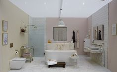 'Glamour Bathroom' by Good Homes Magazine at Ideal Home Show, London 2016 Ideal Home Show, London 2016, House And Home Magazine, Home Goods, Glamour, Homes, Bathroom, Washroom, Houses