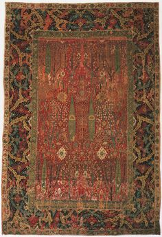Philadelphia Museum of Art - Collections Object : Antique Persian Tree Carpet