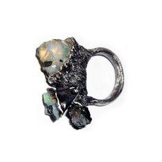 Klimt02: Ramsay London, Hanni jewelry design unique handmade jewelry images jewelers found on Polyvore