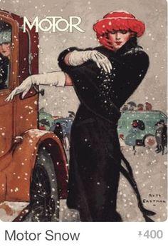 1921 Motor Magazine Illustration by Ruth Eastman Art And Illustration, Magazine Illustration, Illustrations Posters, Art Vintage, Vintage Prints, Vintage Ads, Vintage Posters, Norman Rockwell, Cover Art