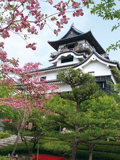 """Inuyama Castle in Inuyama, Aichi Prefecture (Japan)""""-""""."""