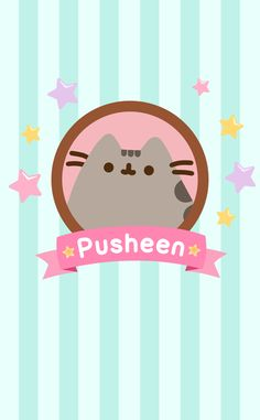 Pusheen the Cat Kawaii 365, Chat Kawaii, Kawaii Cute, Gato Pusheen, Pusheen Love, Kawaii Wallpaper, Cat Wallpaper, Iphone Wallpaper, Hello Kitty