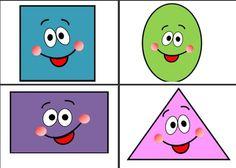 geometry - ΠΡΩΤΟ ΚΟΥΔΟΥΝΙ Carnival Crafts, Shape Games, Math For Kids, Montessori, Kids Room, Clip Art, Printables, Shapes, Humor