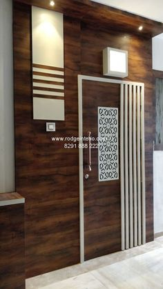 Residential and Commercial Interior Designer House Main Door Design, Wooden Front Door Design, Main Entrance Door Design, Home Entrance Decor, Pooja Room Door Design, House Ceiling Design, Door Design Interior, Home Room Design, Commercial Interior Design